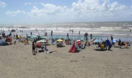 Playa en San Bernardo, Buenos Aires